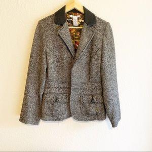 CAbi Fox Hunt Wool Tweed Blazer style 629